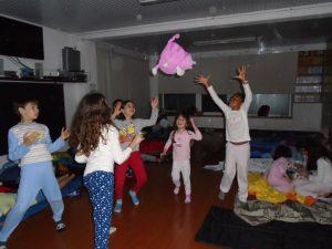 mundo das tropelias festa do pijama